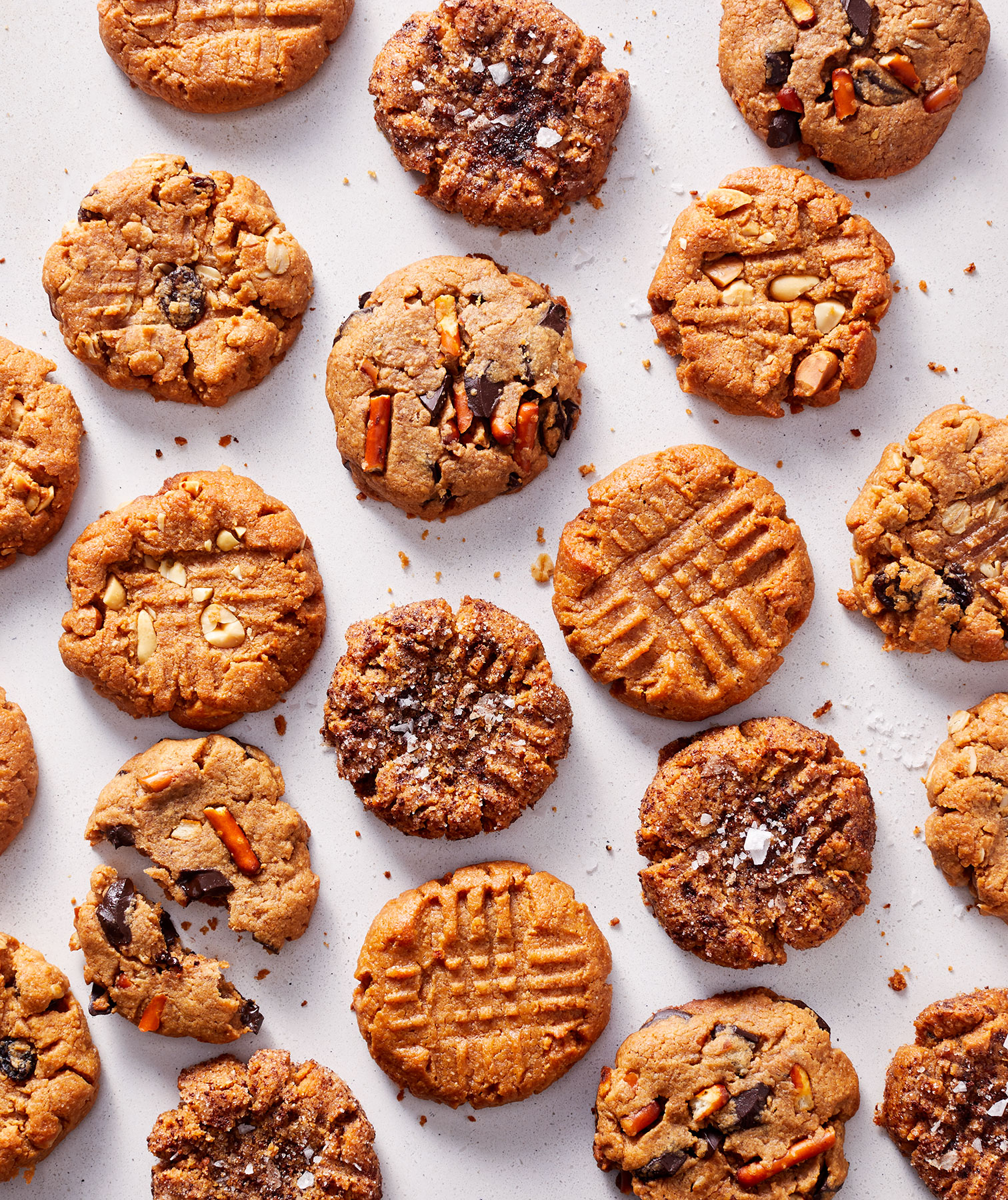 Peanut Butter Cookie Variations