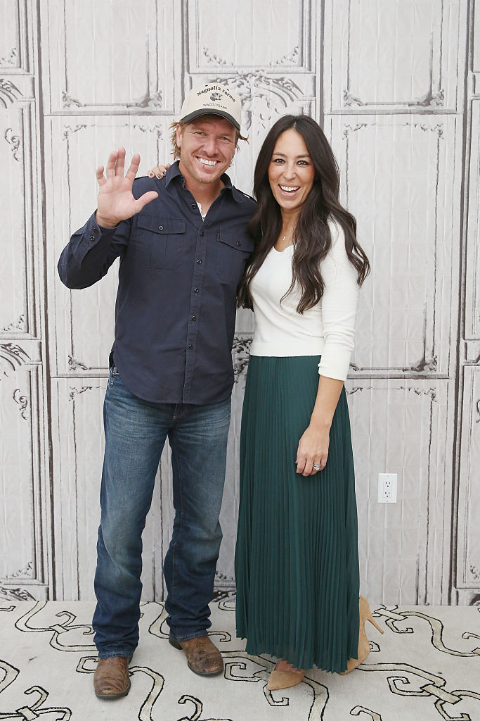 Chip and Joanna Gaines at event
