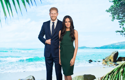 Meghan Markle and Prince Harry's Wax Figures at Madame Tussauds London