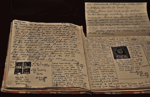 Hidden Pages of Anne Frank's Diary With Dirty Jokes