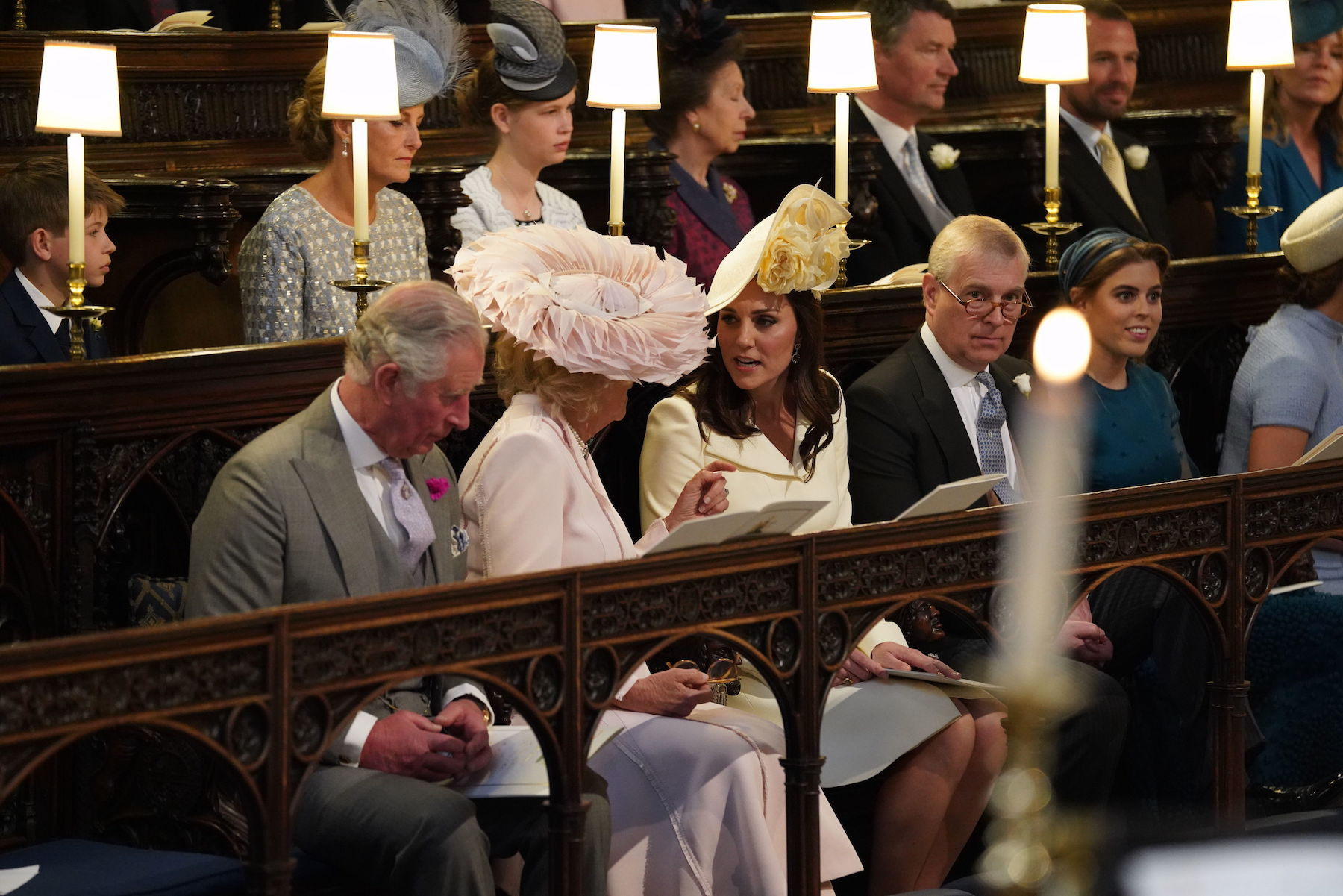 Kate Middleton Attends Royal Wedding