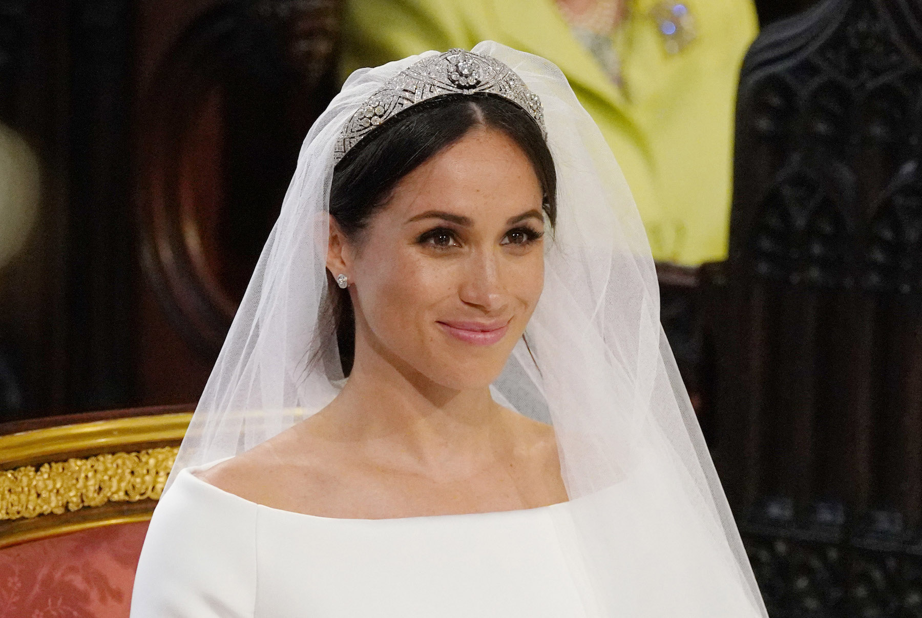 Meghan Markle at Royal Wedding makeup look