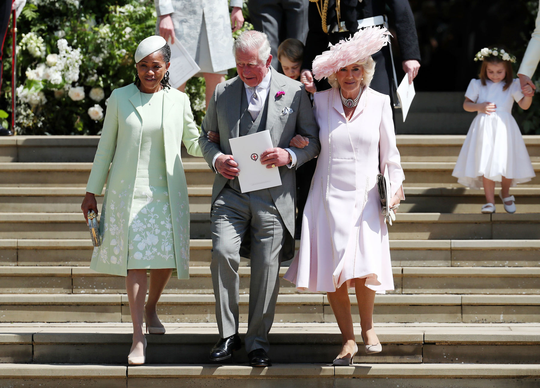 Prince Charles and Doria Ragland at royal wedding