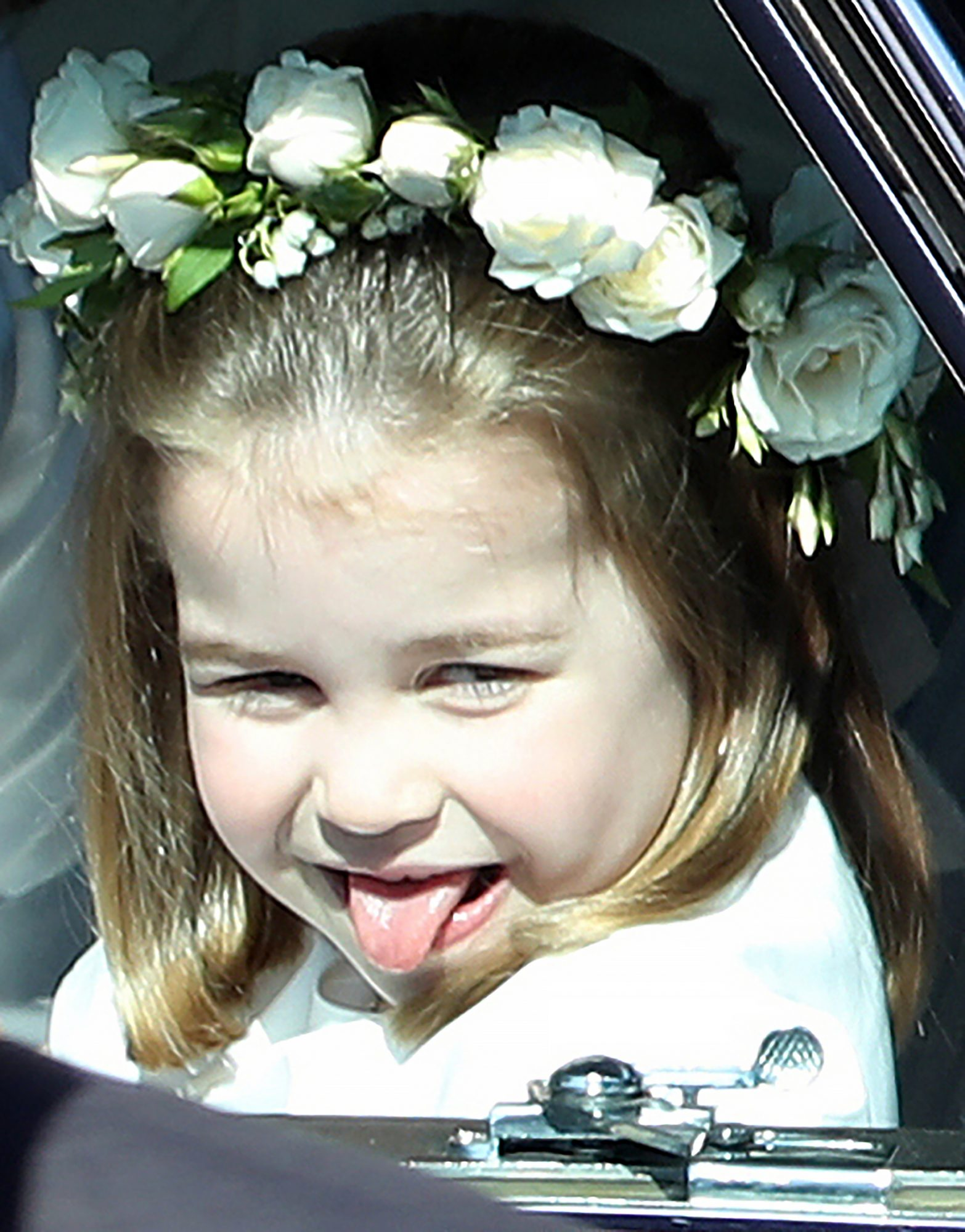 14 Hilariously Adorable Photos of the Royal Family Sticking Their Tongues Out