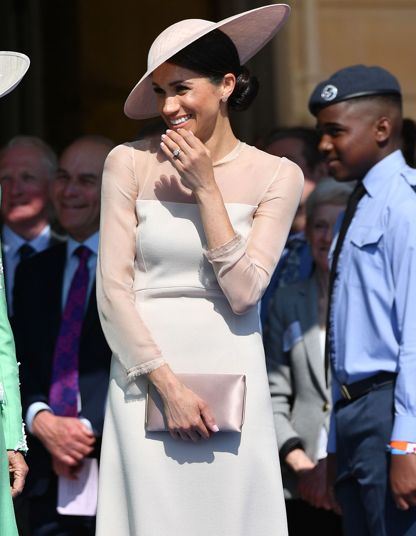 Meghan Markle, Duchess of Sussex attends The Prince of Wales' 70th Birthday Patronage Celebration