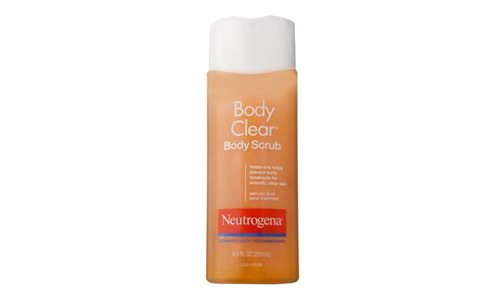 Neutrogena Body Clear Body Scrub in Cheap Makeup and Beauty Products