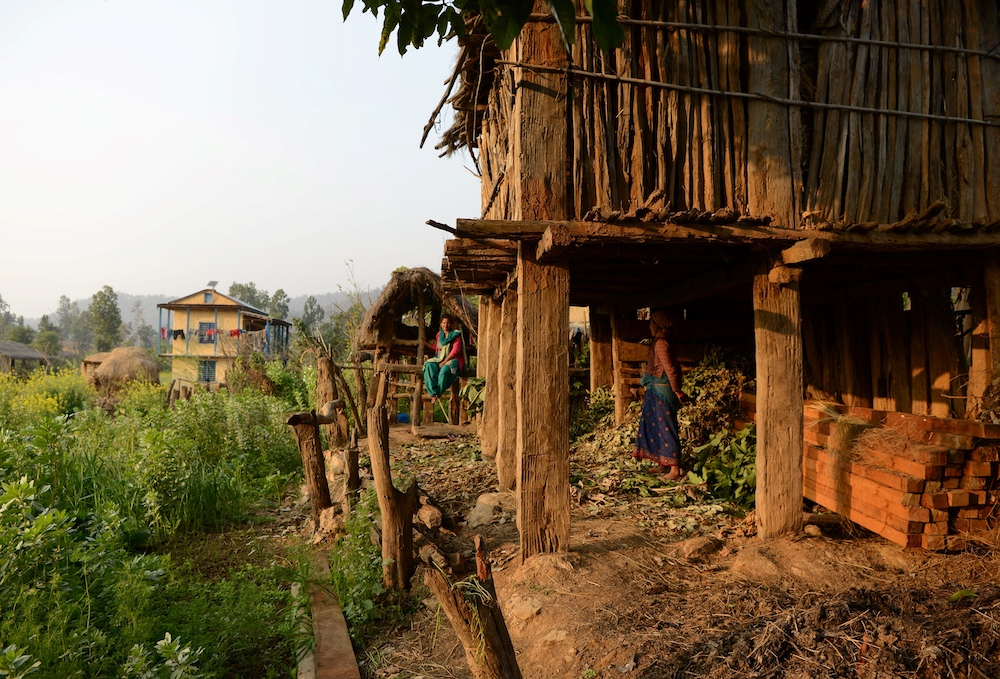 Women in Huts During Their Periods in Rural Nepal