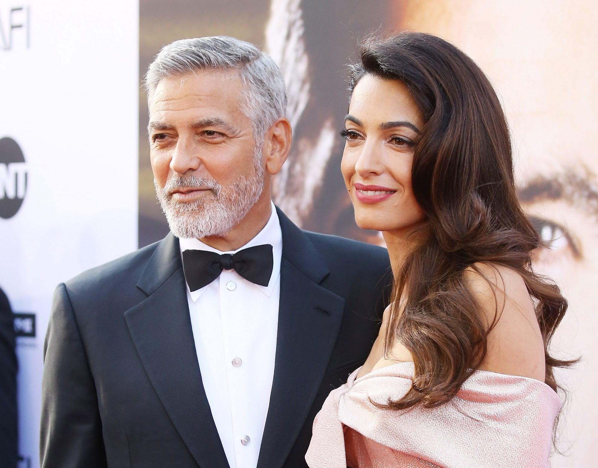George Clooney and Amal Clooney at the American Film Institute's 46th Life Achievement Award Gala Tribute