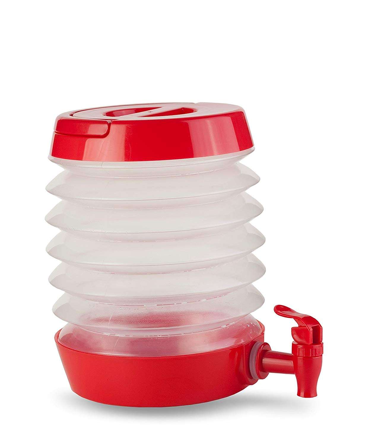 Collapsible Drink Dispenser for Beach Trips and Picnics