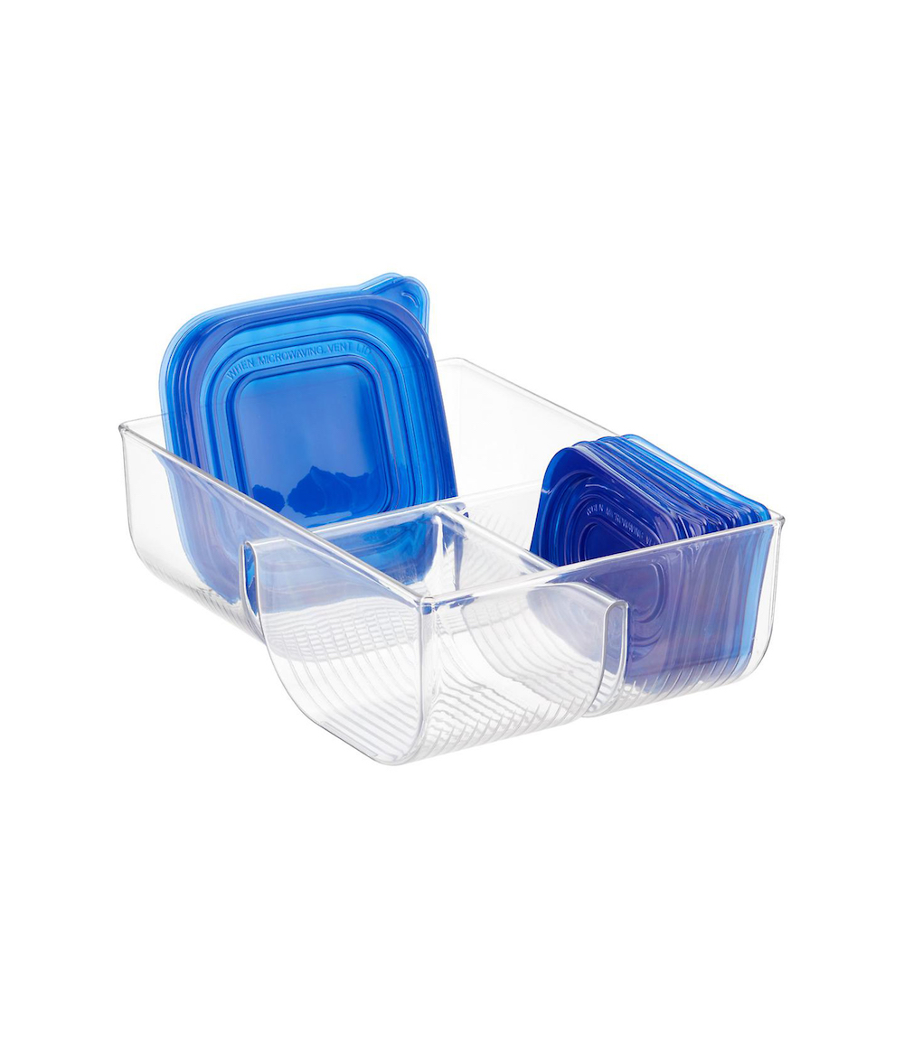 Pantry Organization for Tupperware Lids