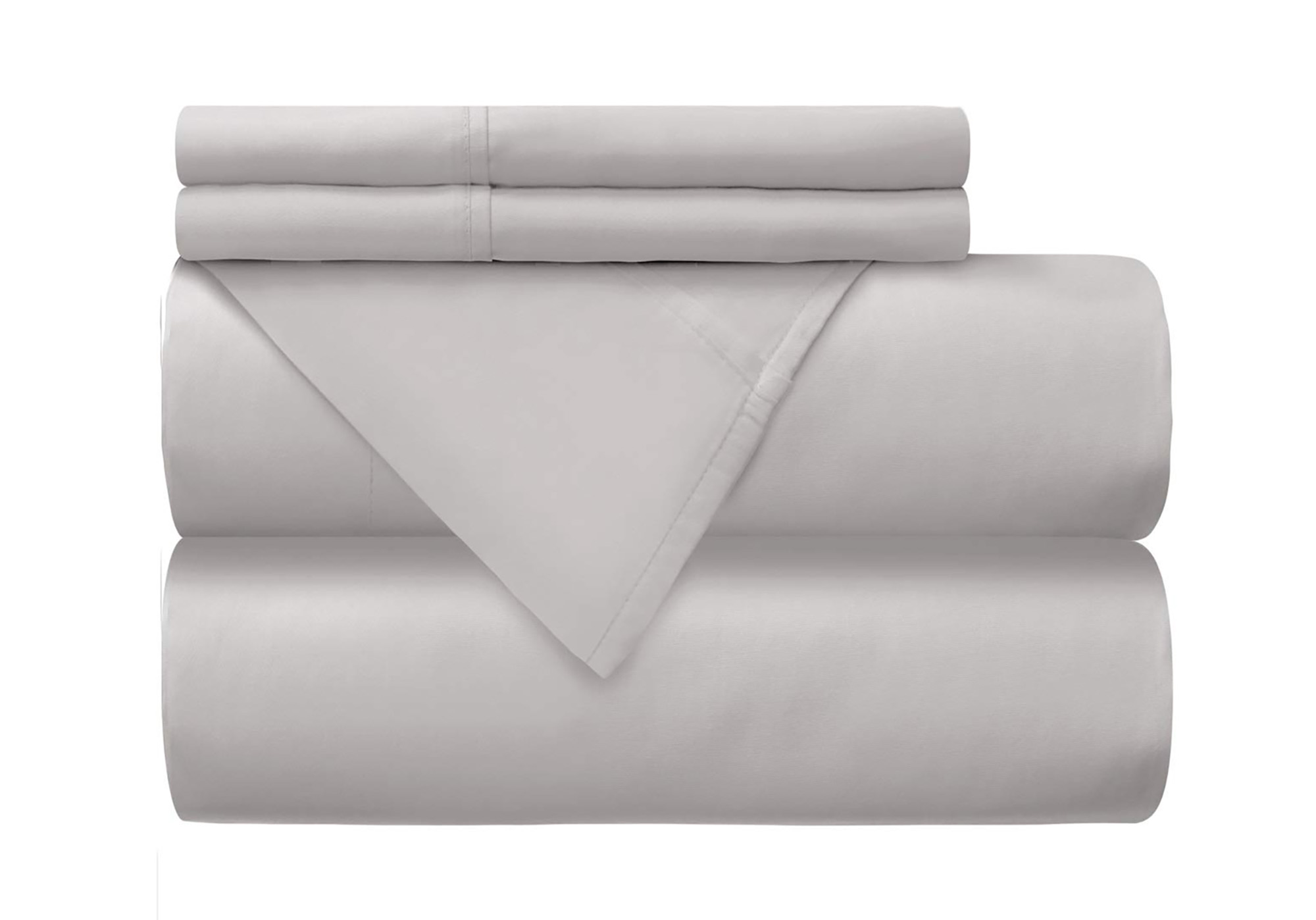 Mellanni 100% Percale Cotton Bed Sheet Set