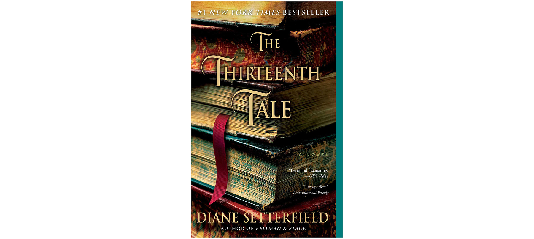 Cover of The Thirteenth Tale, by Diane Setterfield