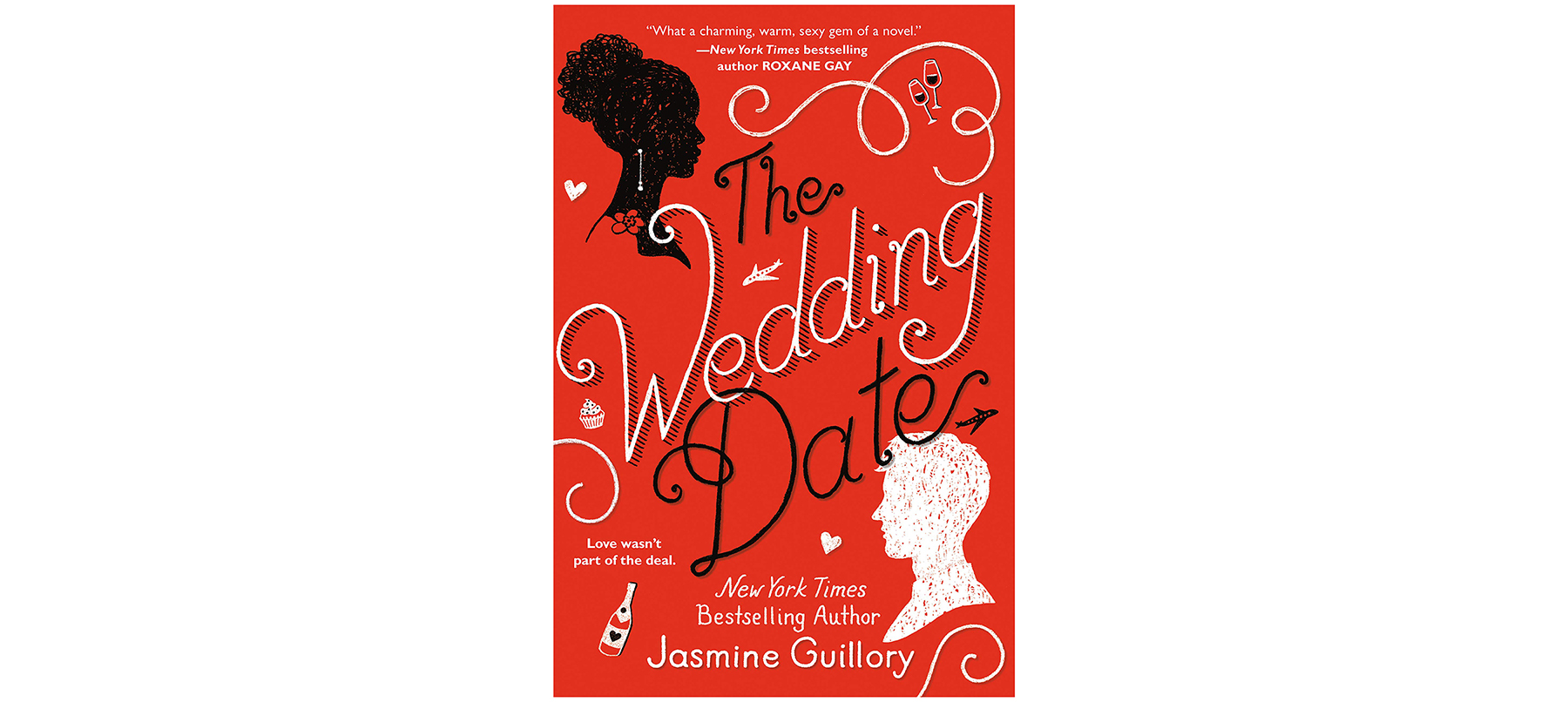 Cover of The Wedding Date, by Jasmine Guillory