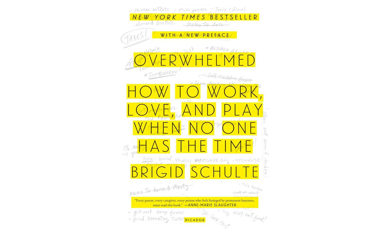 Overwhelmed, by Brigid Schulte