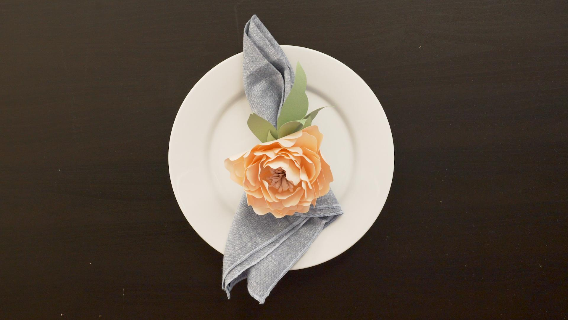 How to Make Paper Flowers Peony