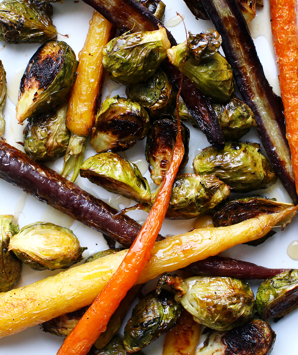 Maple-Roasted Vegetables