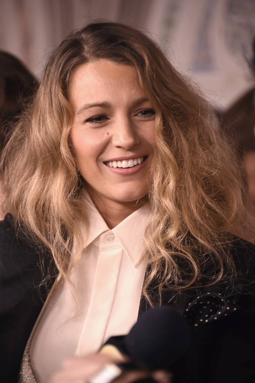 Blake Lively's New Fall Hairstyle Is a Bedhead Look