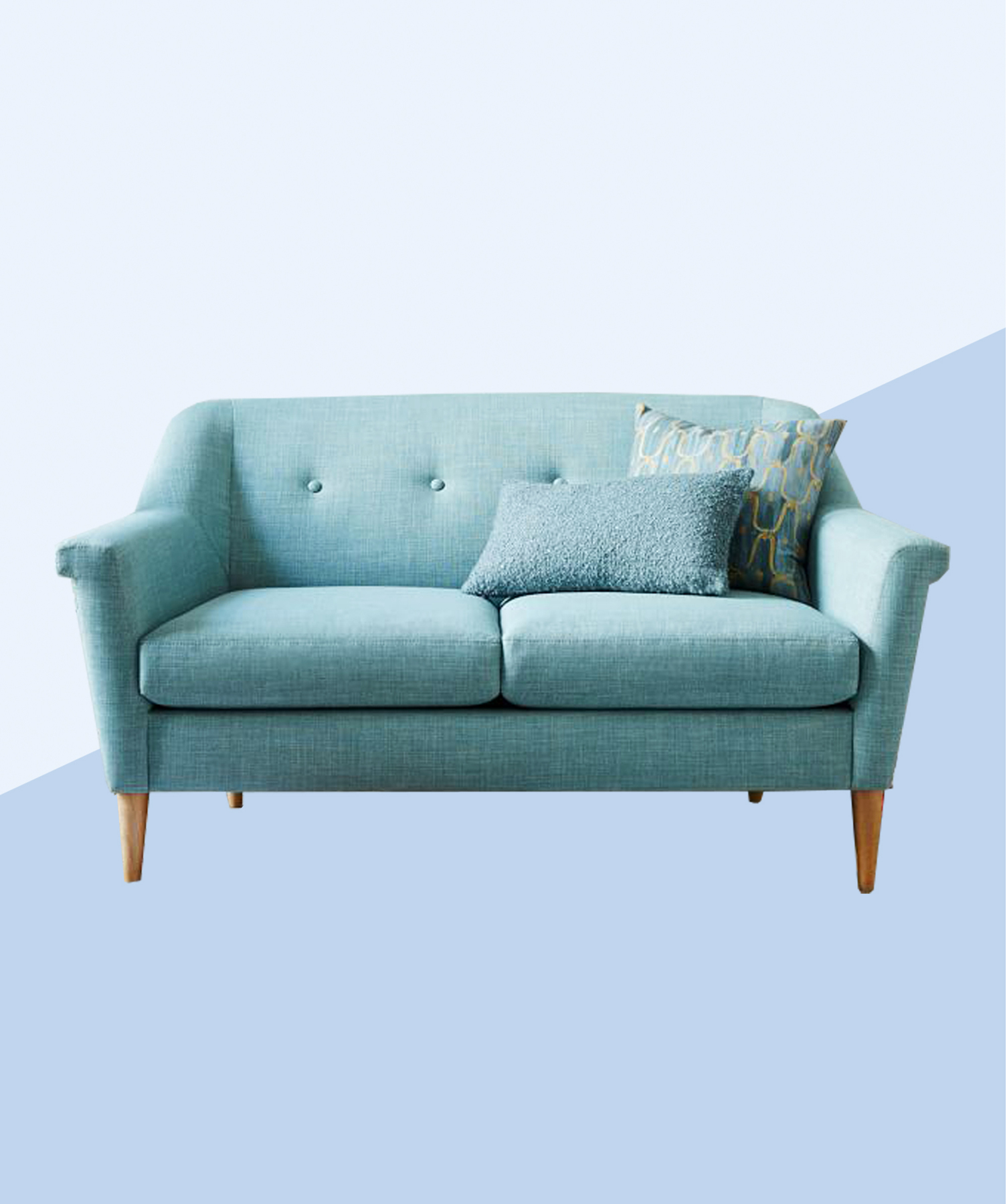 The Ultimate First Apartment Checklist West Elm sofa