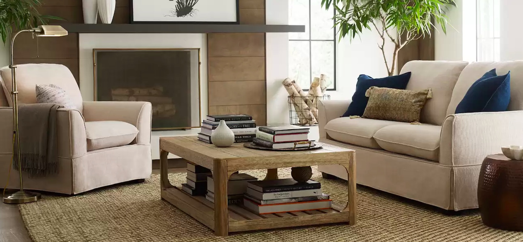 Luxe Decor for Less Living Room