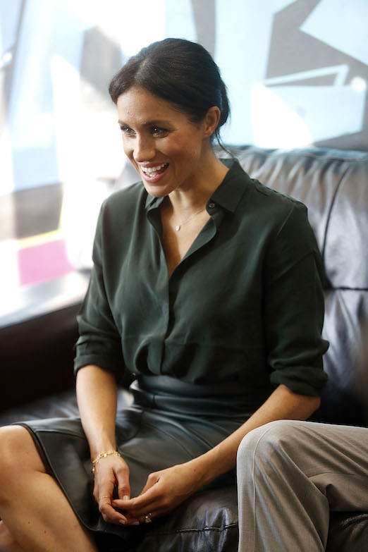 Meghan Markle & Other Stories Top in Sussex
