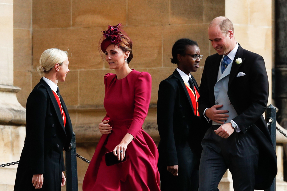 Every Detail of Kate Middleton's Outfit at Princess Eugenie's Wedding