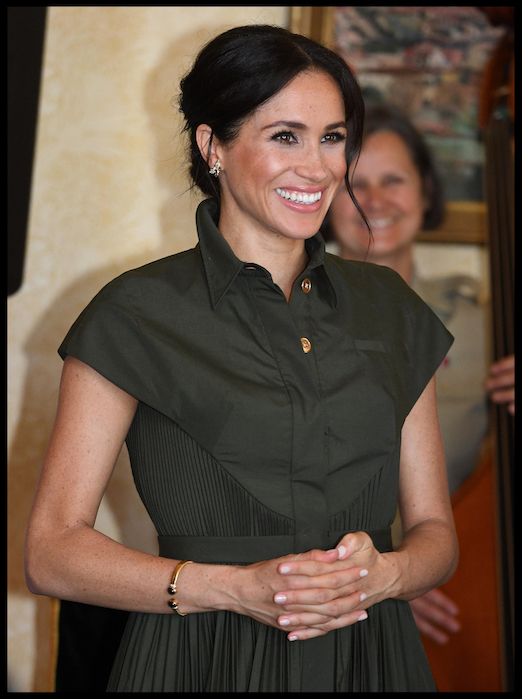 Meghan Markle Wears Princess Diana's Butterfly Earrings and Gold Bracelet on 16-day tour to Australia, Fiji, Tonga, and New Zealand