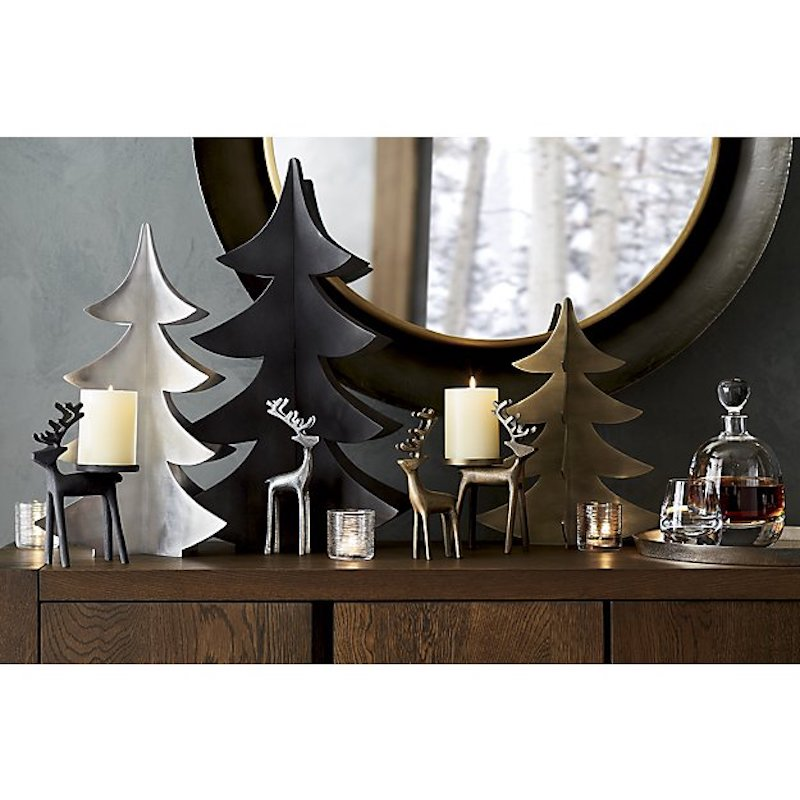 Christmas Trends 2018, mantel with decor