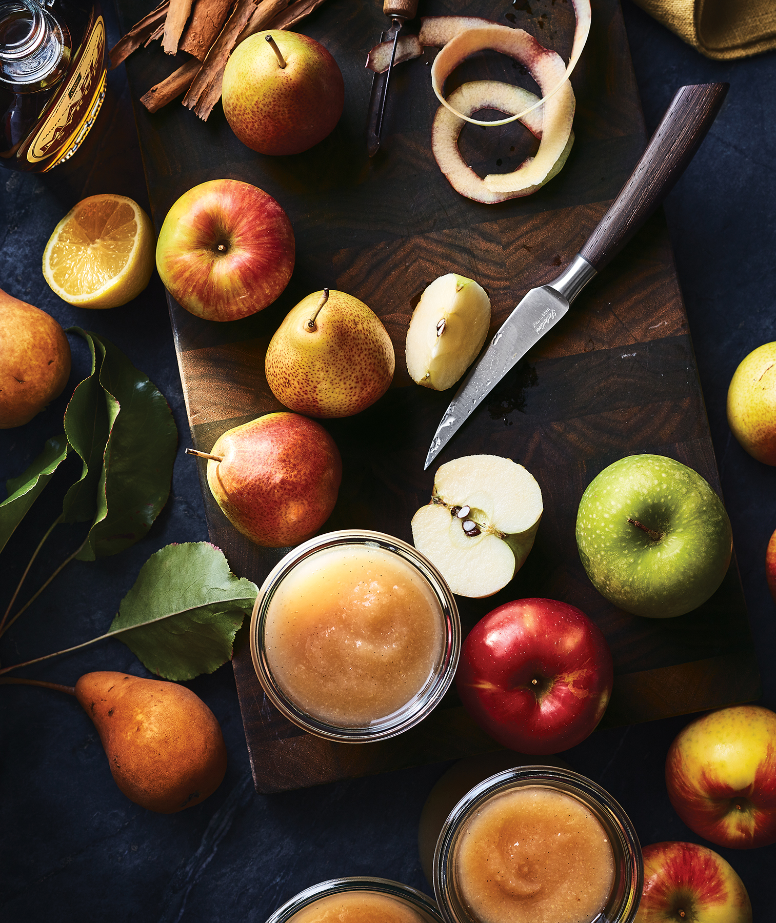 Slow Cooker Apple-and-Pear Sauce