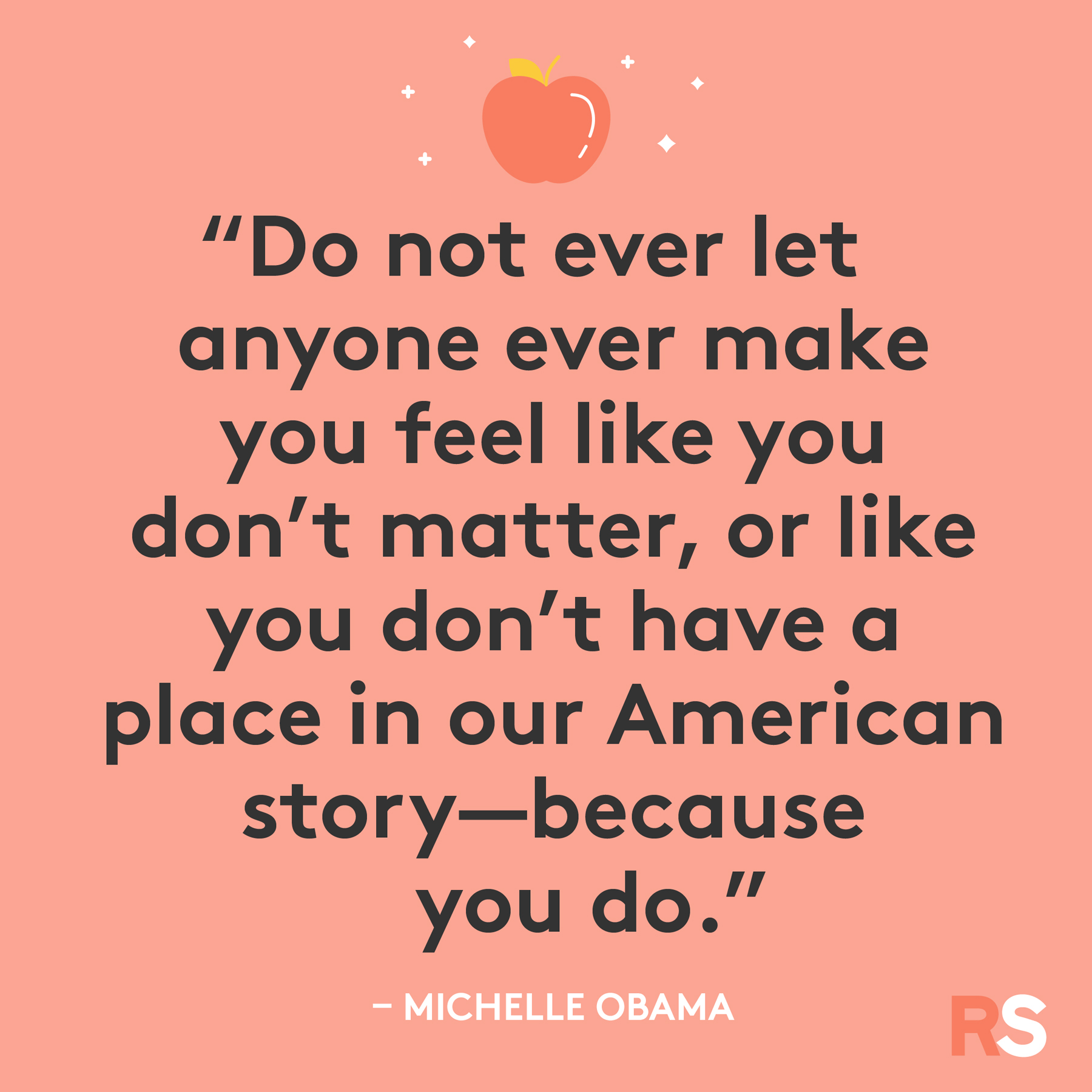 Inspirational, thankful Thanksgiving quotes - Michelle Obama