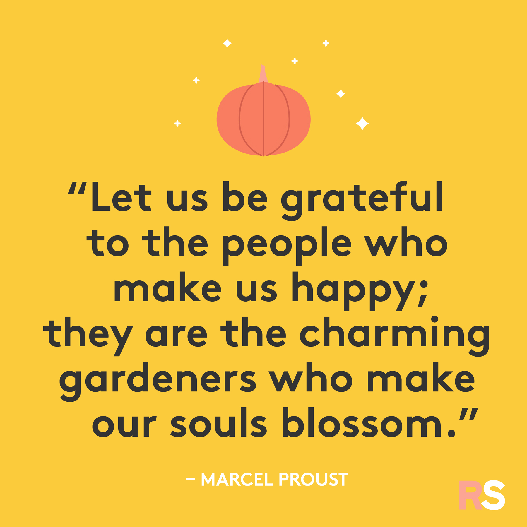 Inspirational, thankful Thanksgiving quotes - Marcel Proust