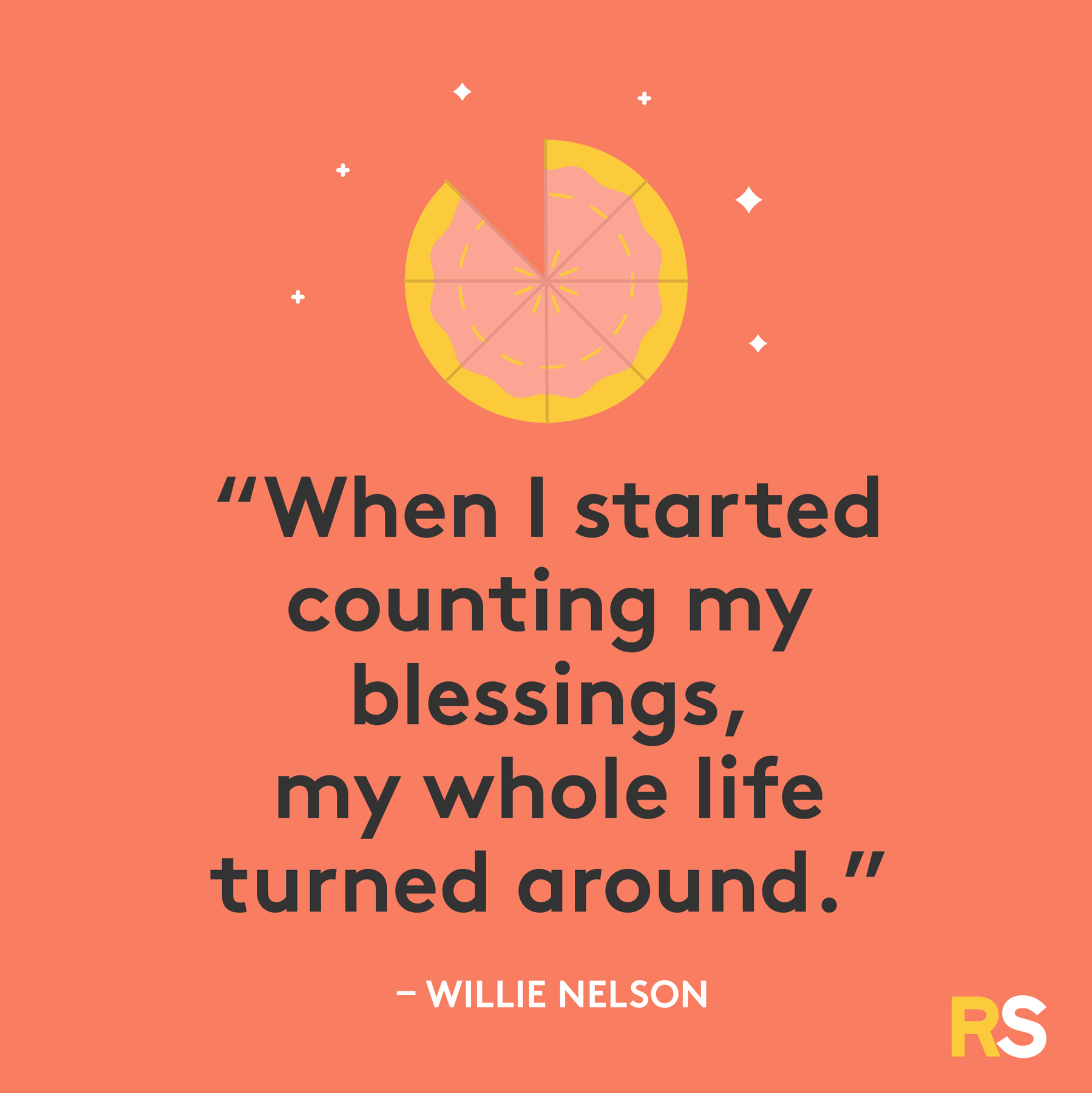Inspirational, thankful Thanksgiving quotes - Willie Nelson