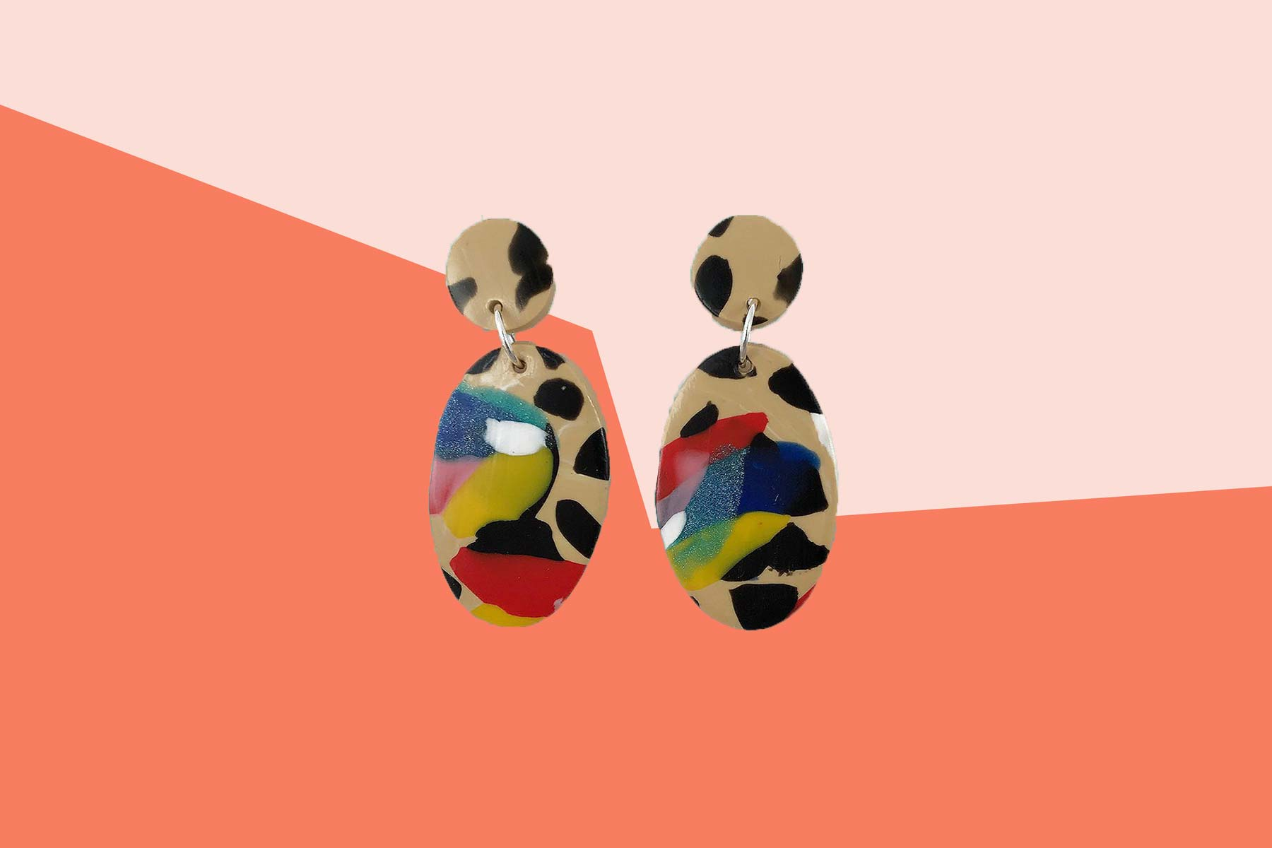 Top Trends 2019, colorful Etsy Earrings