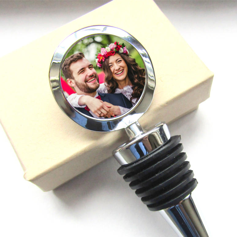 Gifts for Couples: Custom Wine Stopper