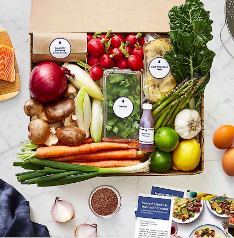 Gifts for couples, Blue Apron gift card