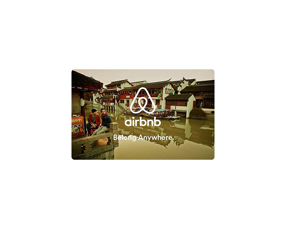 GIfts for Couples: Airbnb Gift Card