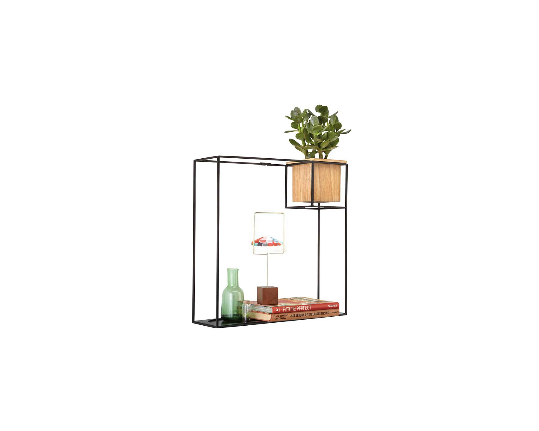 Gifts for Colors: Umbra Large Cubist Wall Shelf