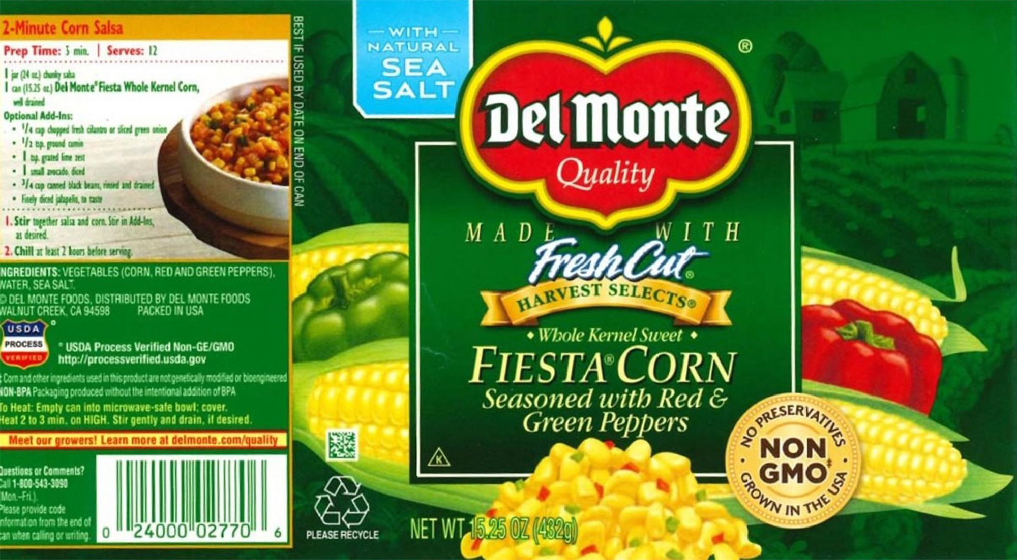 Del Monte Corn Cans Recalled Due to Risk of 'Life-Threatening Illness'