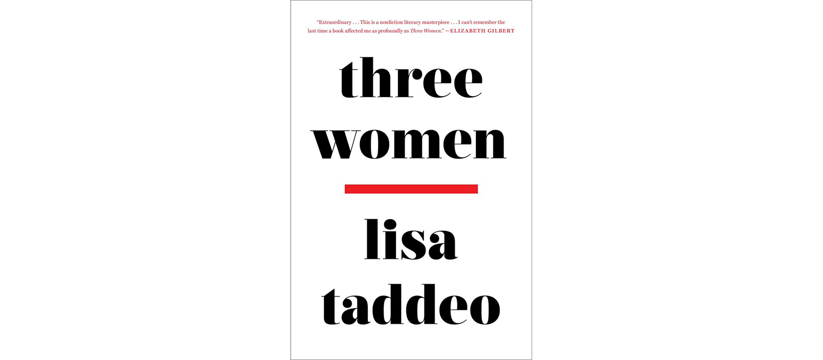 Cover of Three Women, by Lisa Taddeo