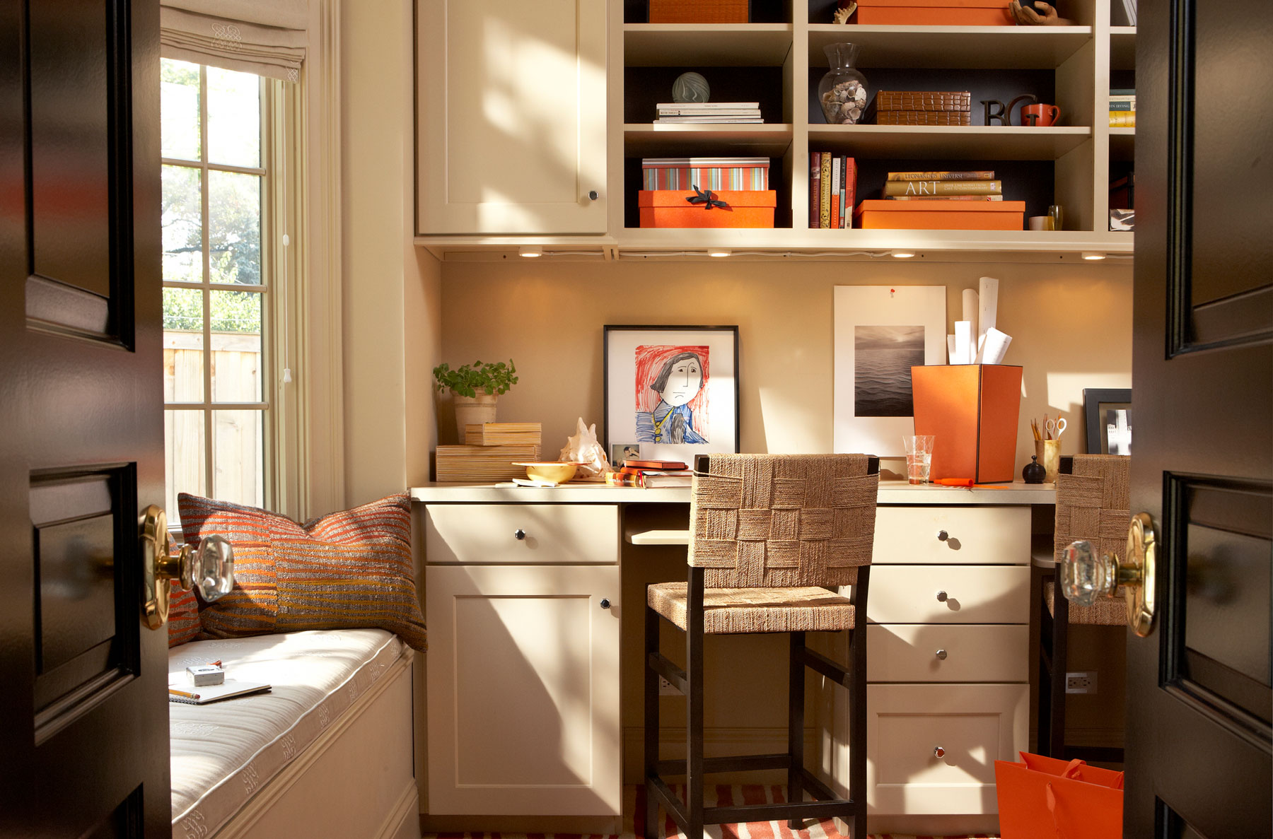 Declutter Home Office - Modern Small Home Office