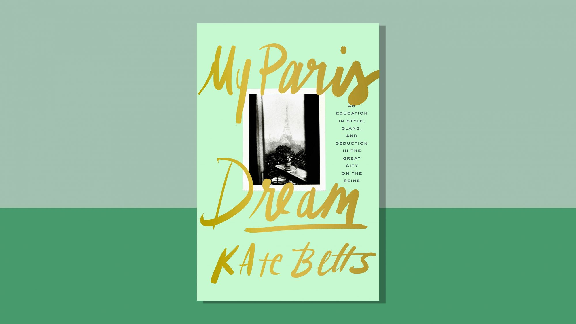 My Paris, a good book to read if you need a vacation