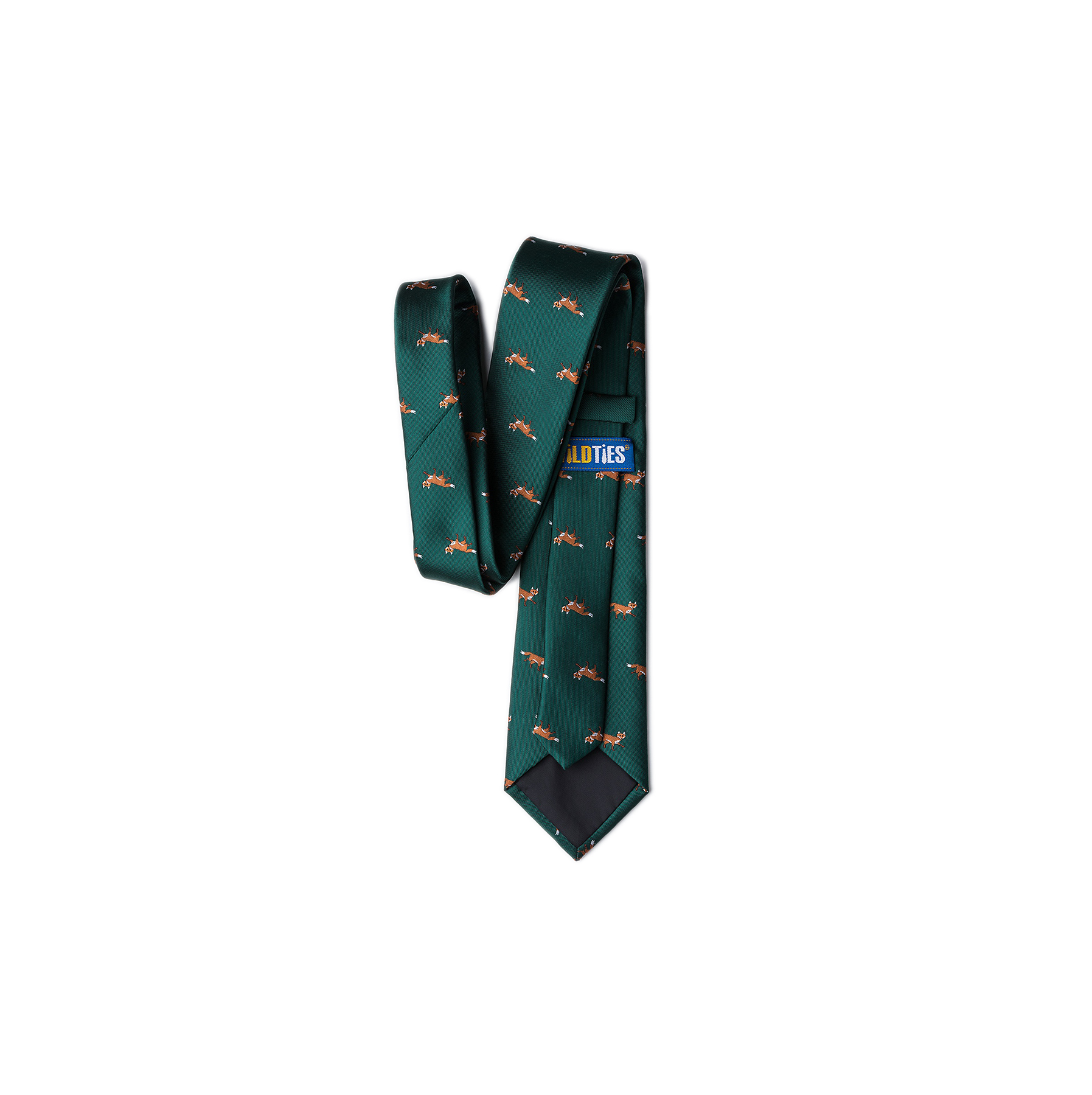 Valentine Gift Ideas for Men: Prowling Foxes Tie