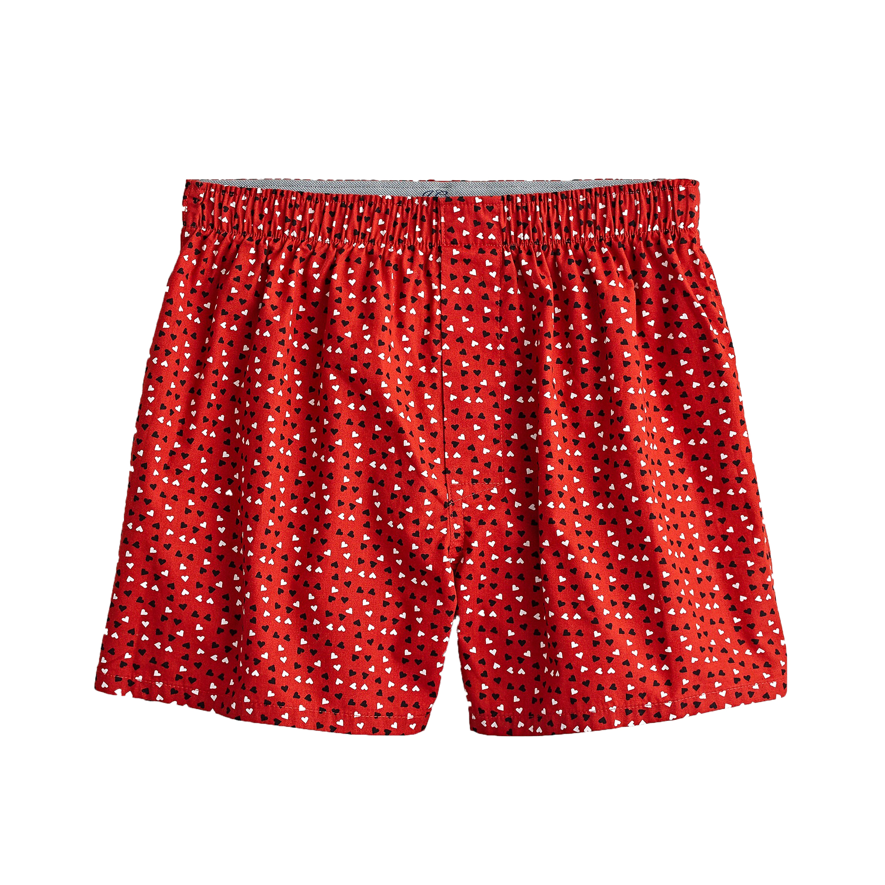 Valentine's Day gifts for him - J. Crew Boxers in Random Heart Print