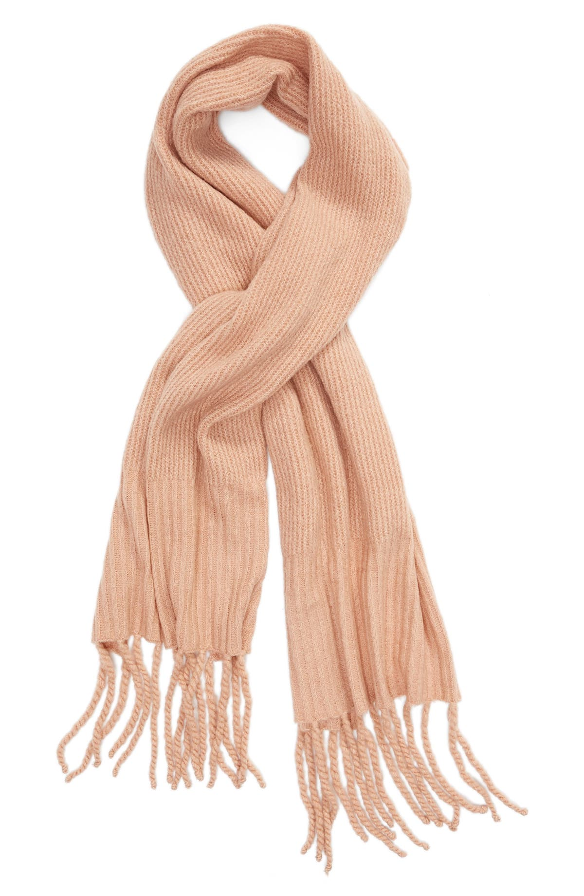 Free People Knit Blanket Scarf