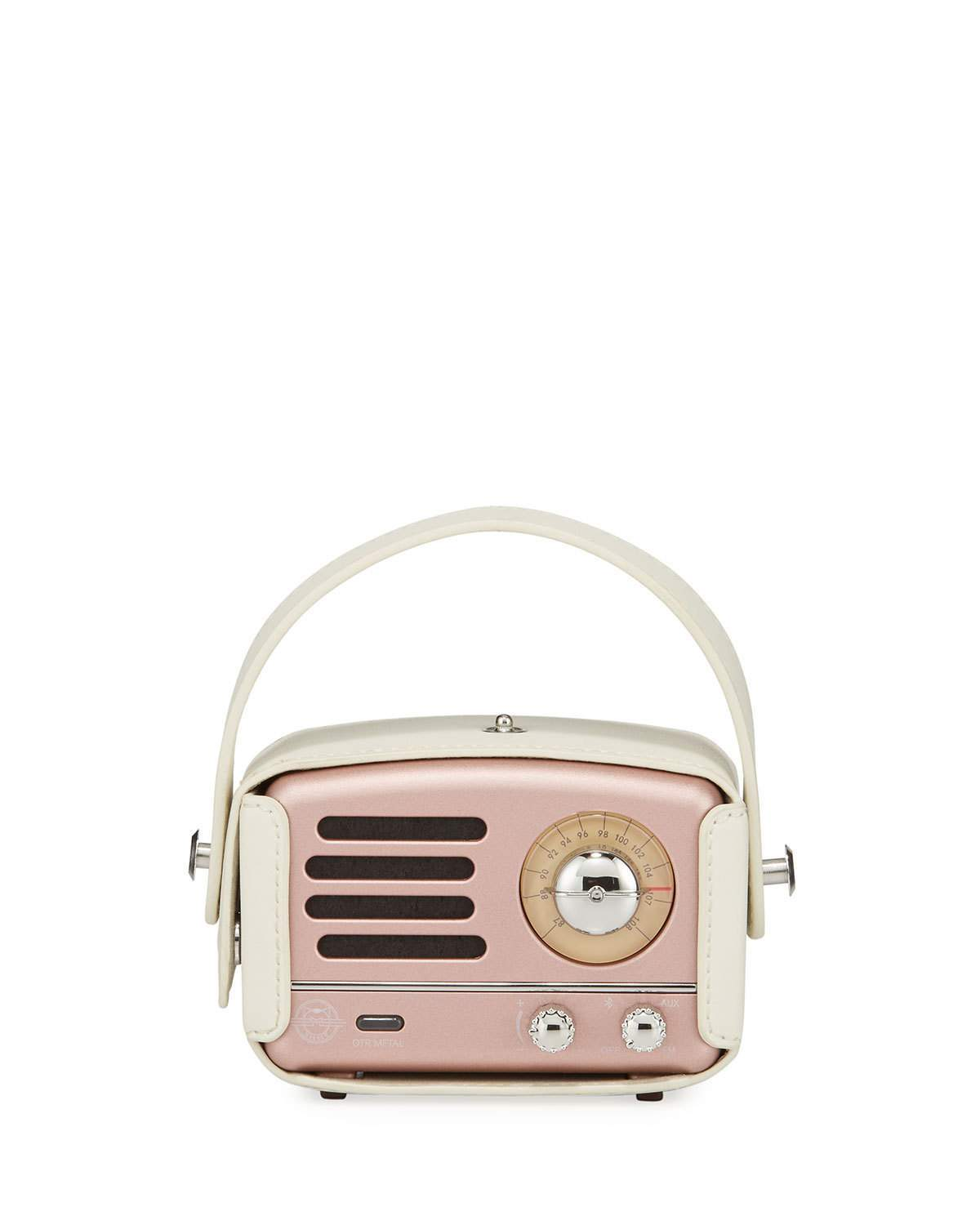 muzen portable retro radio