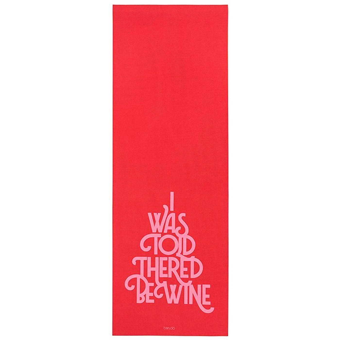 red wine yoga mat
