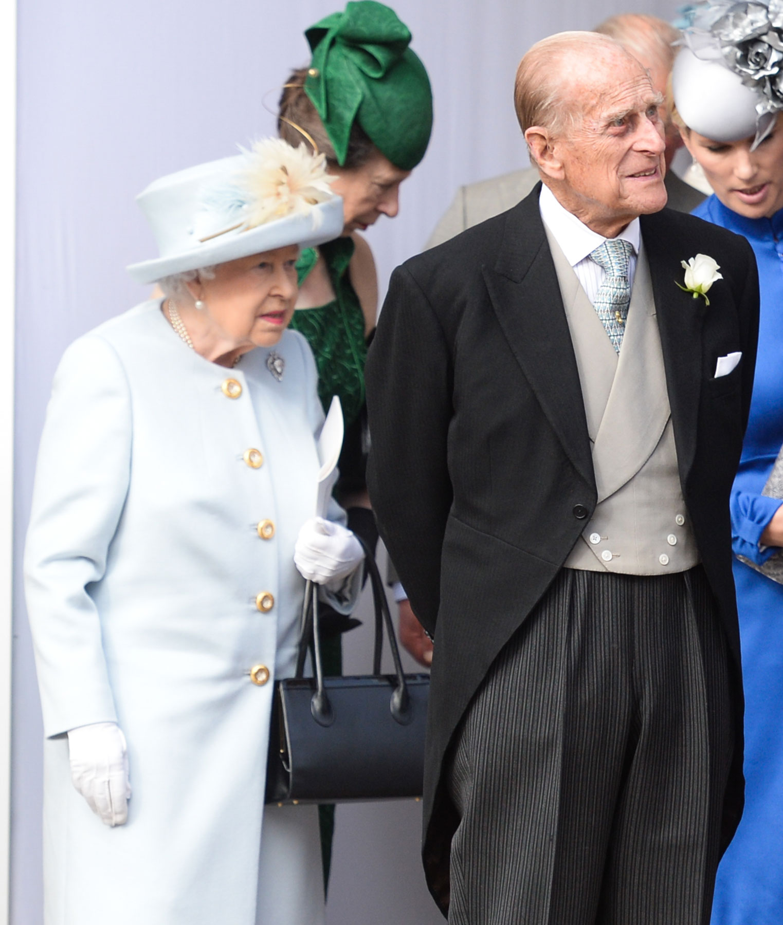 Prince Philip Car accident - Philip and the Queen
