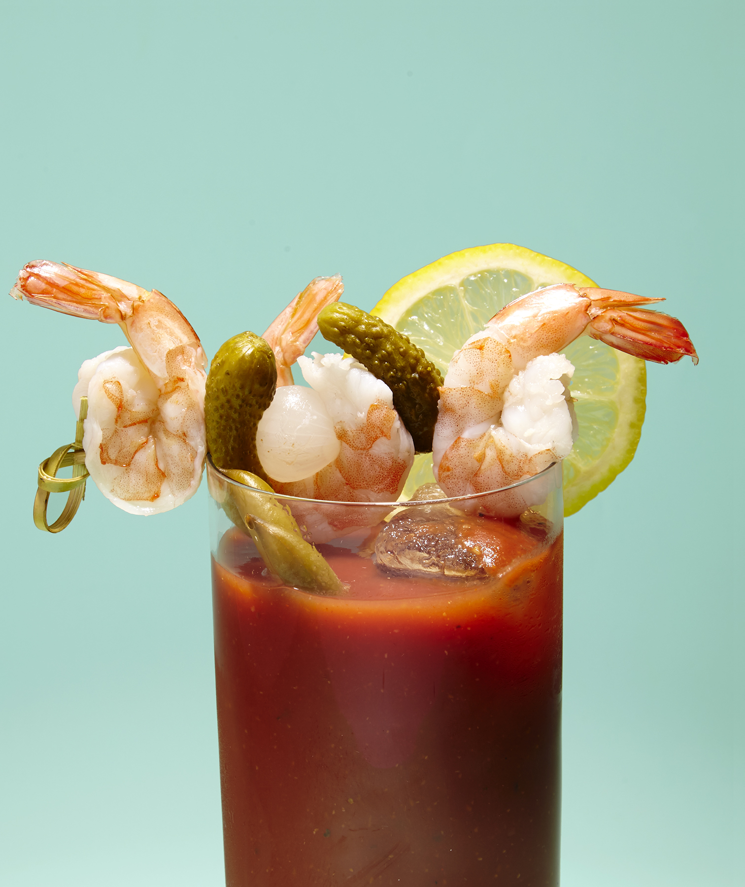 Pickled Shrimp Bloody Mary