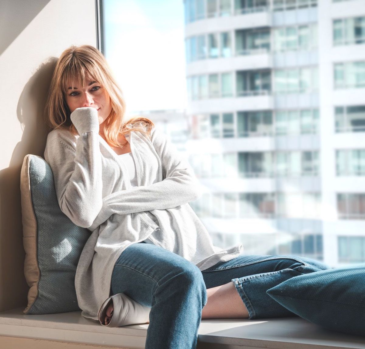 Betabrand Cooling Sweater - Tout