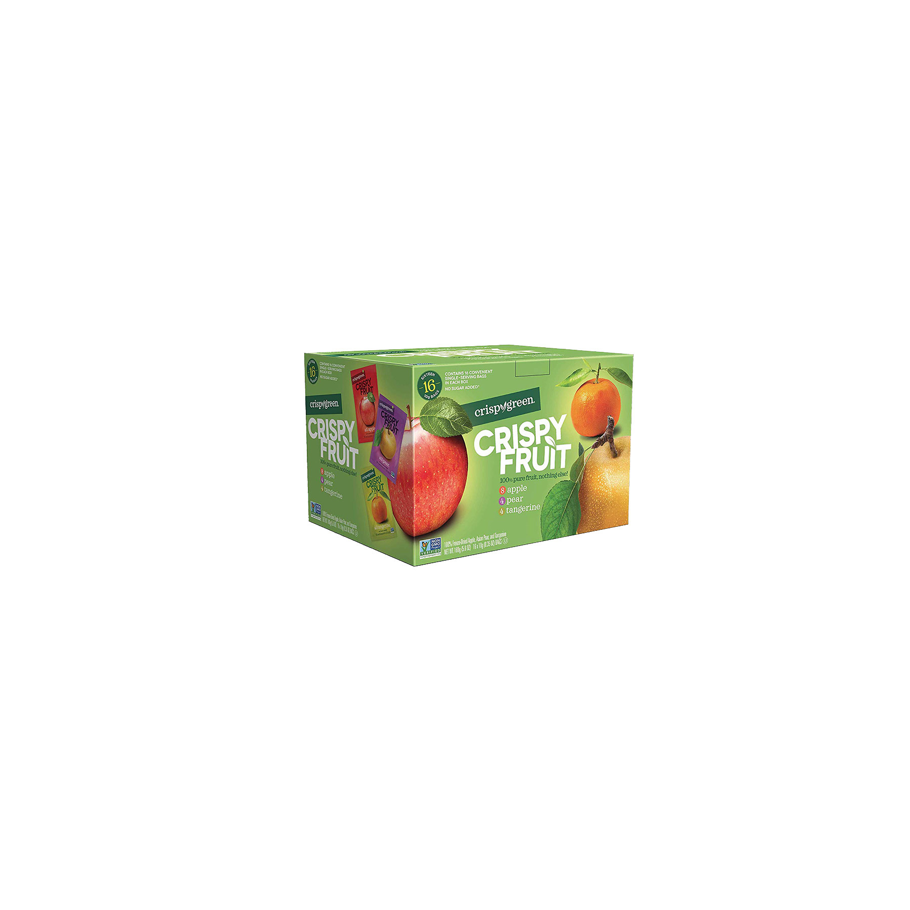 Crispy Green Natural Dried Fruit Variety