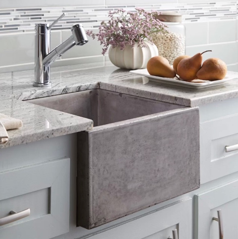 Trend Alert The Farmhouse Sink Is Getting A Modern Makeover Real Simple